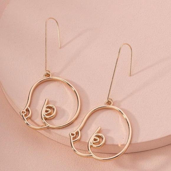 GourdPumpkin Dangle Earrings!